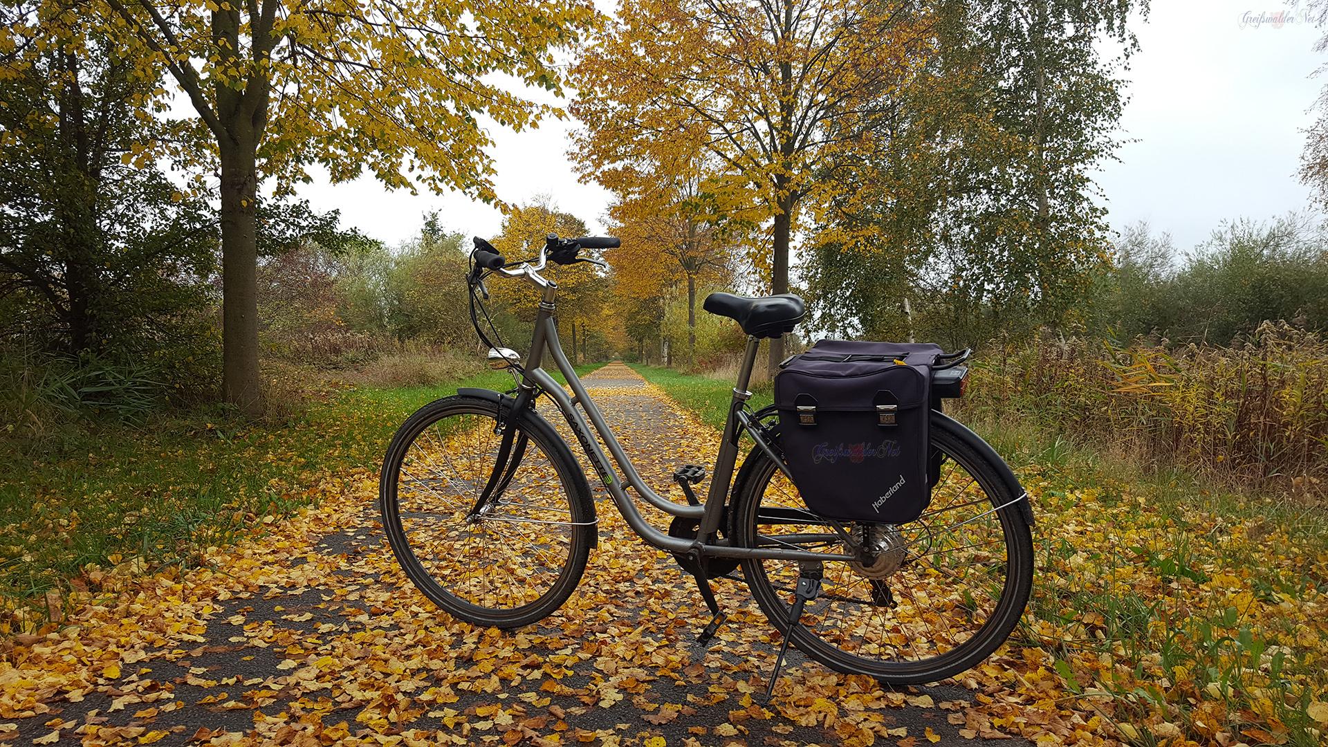 Fahrradtour - herbstliche Farben