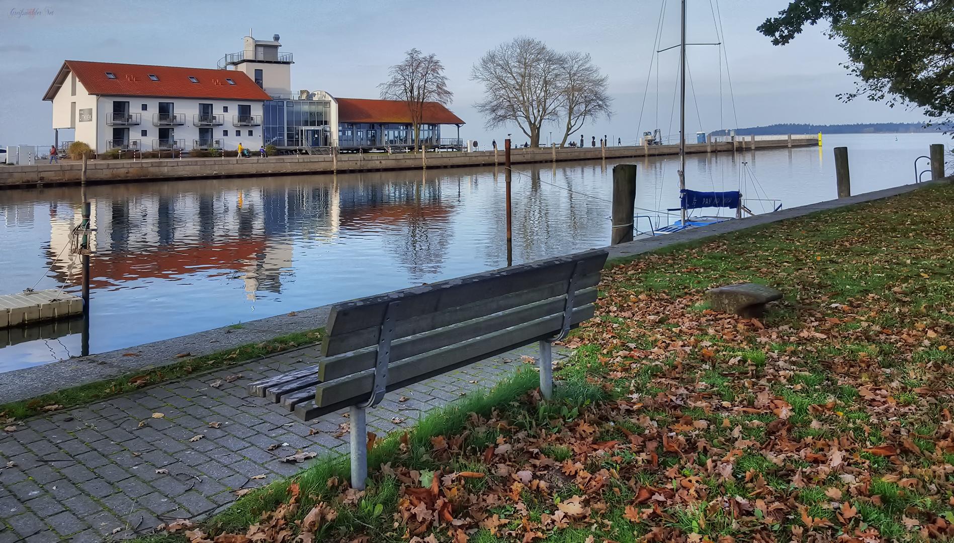 Herbstliche Stimmung in Greifswald-Wieck