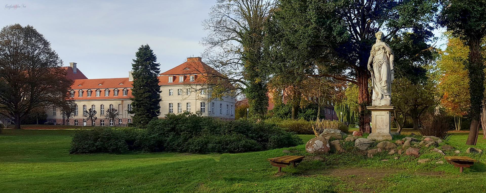 Schloss Karlsburg (Parkseite)