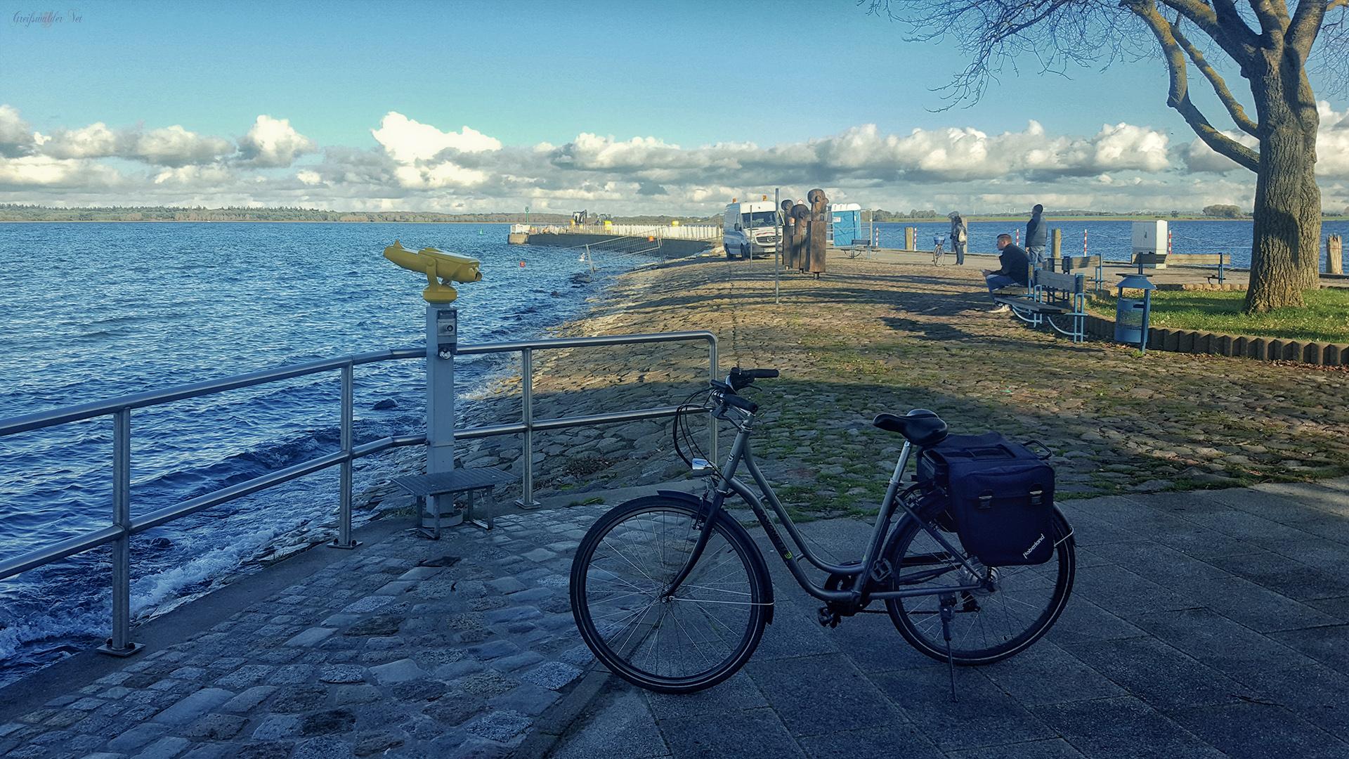 An der Mole in Greifswald-Wieck