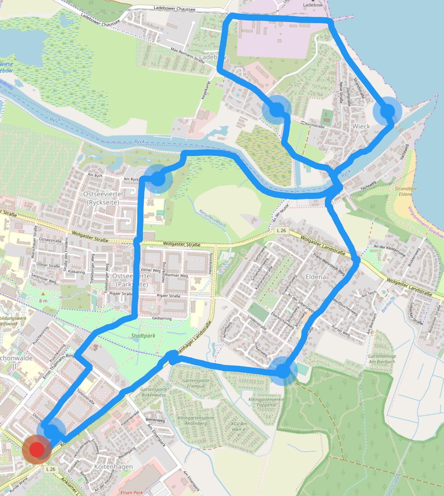 Fahrradtour Frühsport