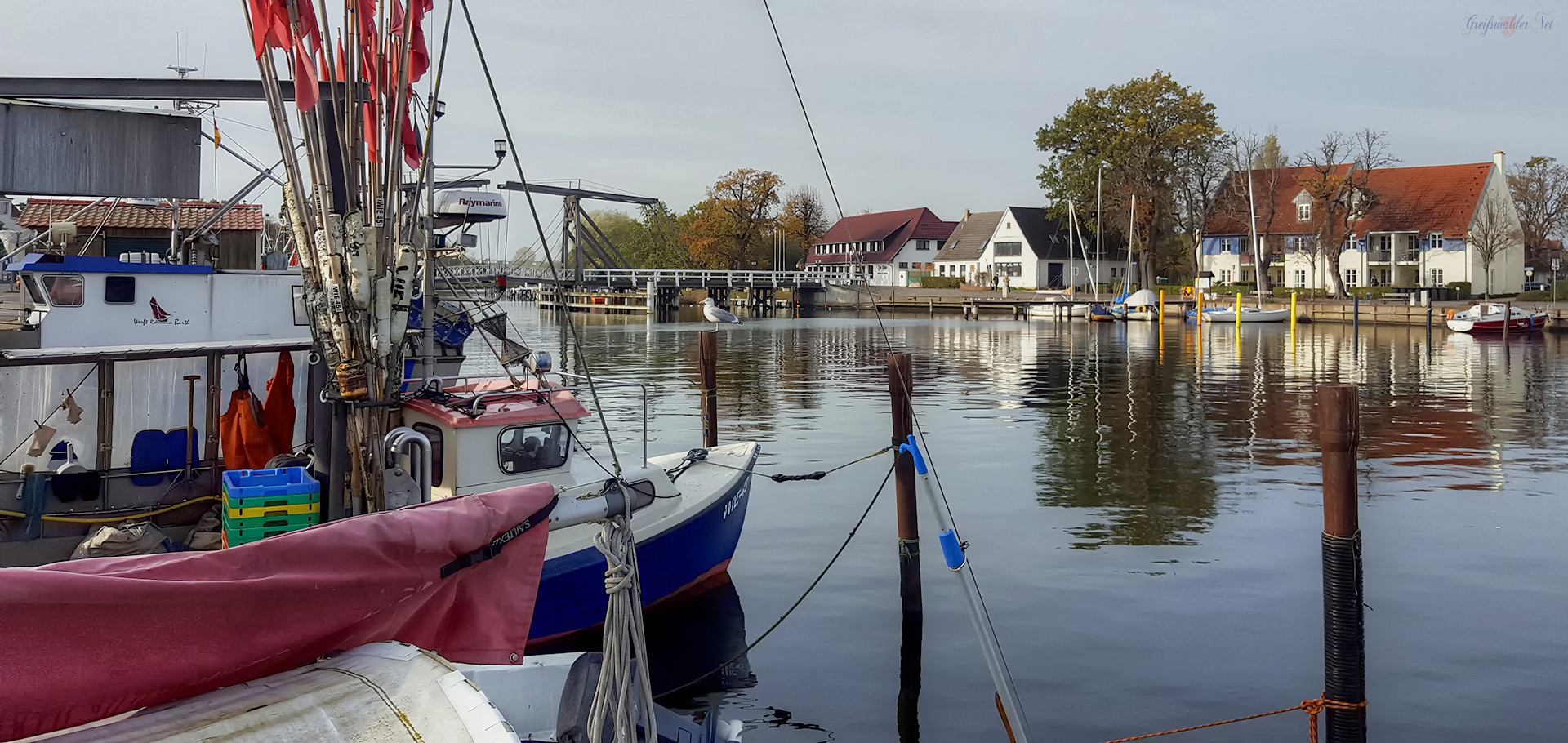 Fischereihafen Greifswald-Wieck