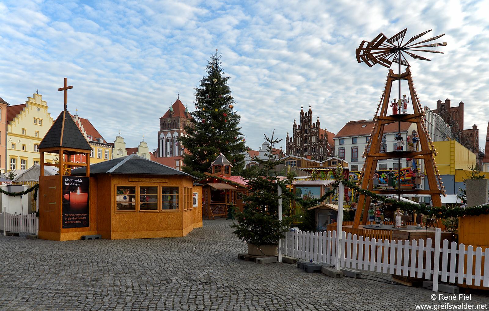 Weihnachtsmarkt Greifswald
