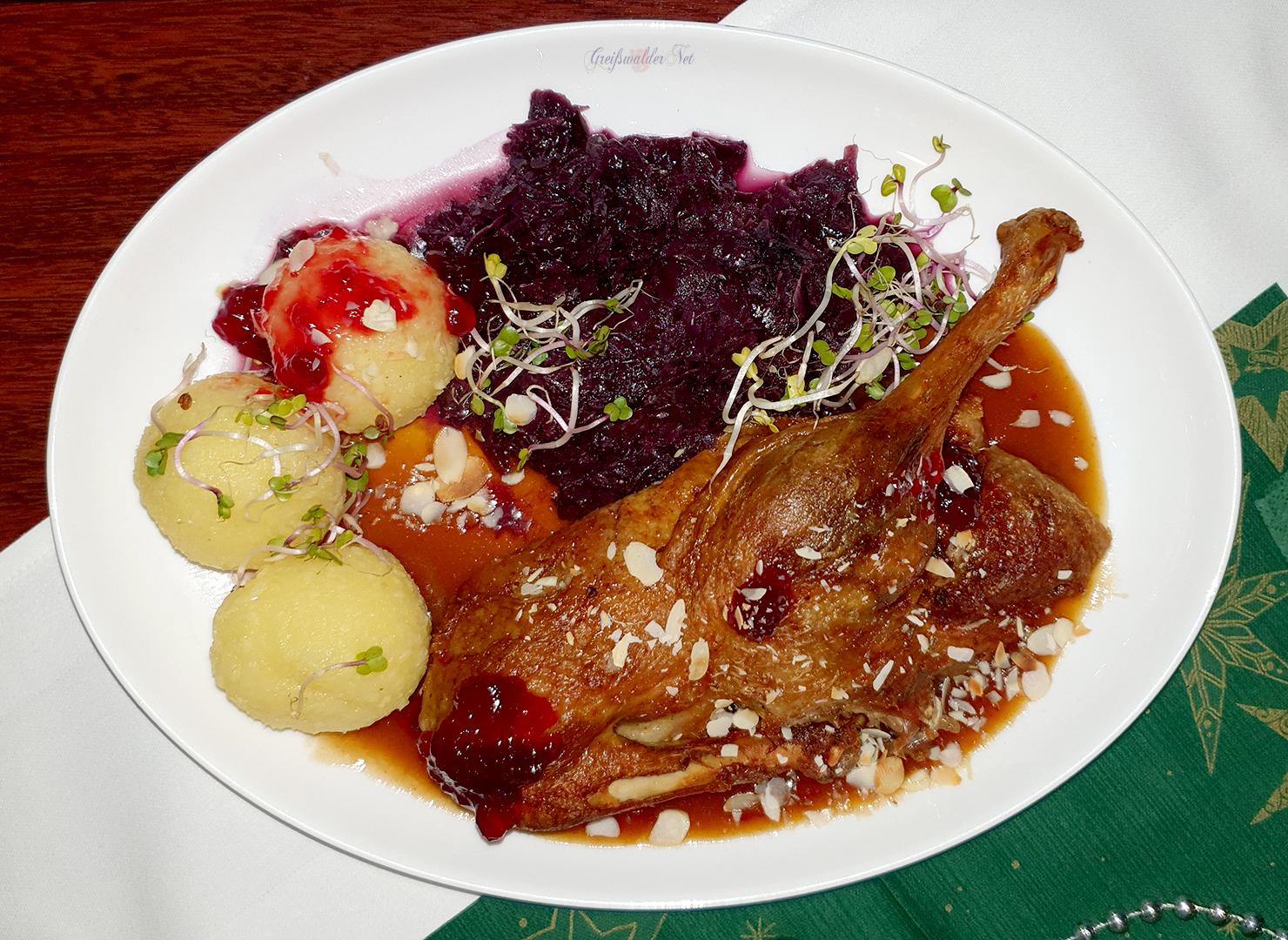 """Mittagessen im Restaurant """"Demminer Mühle"""""""