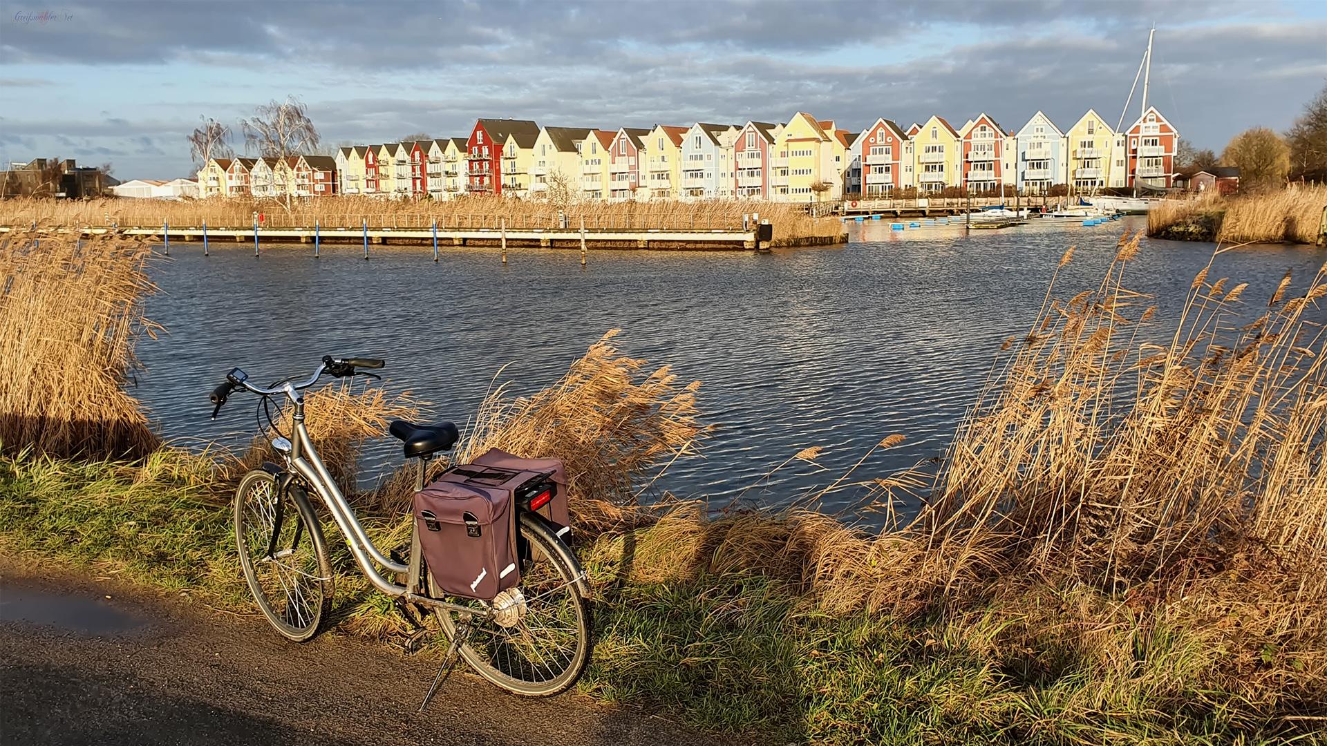 Unterwegs am Ryck in Greifswald