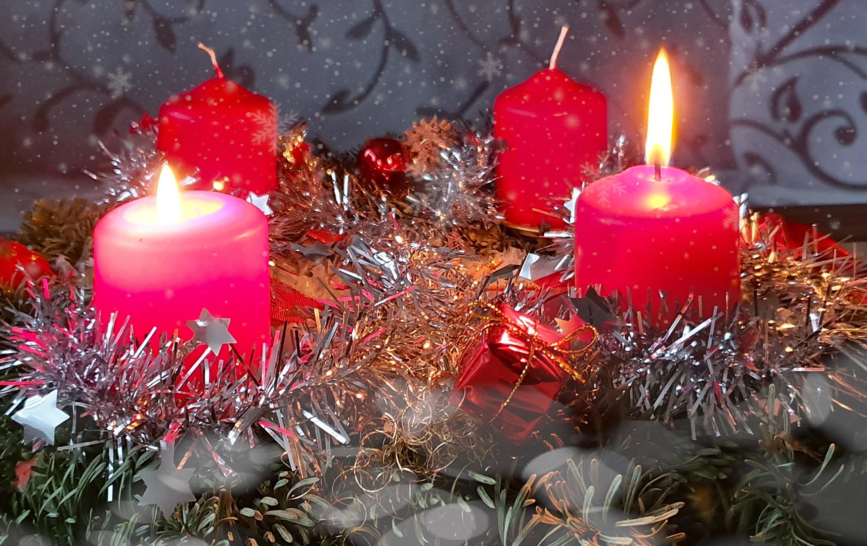 Ich wünsche einen schönen 2. Advent.