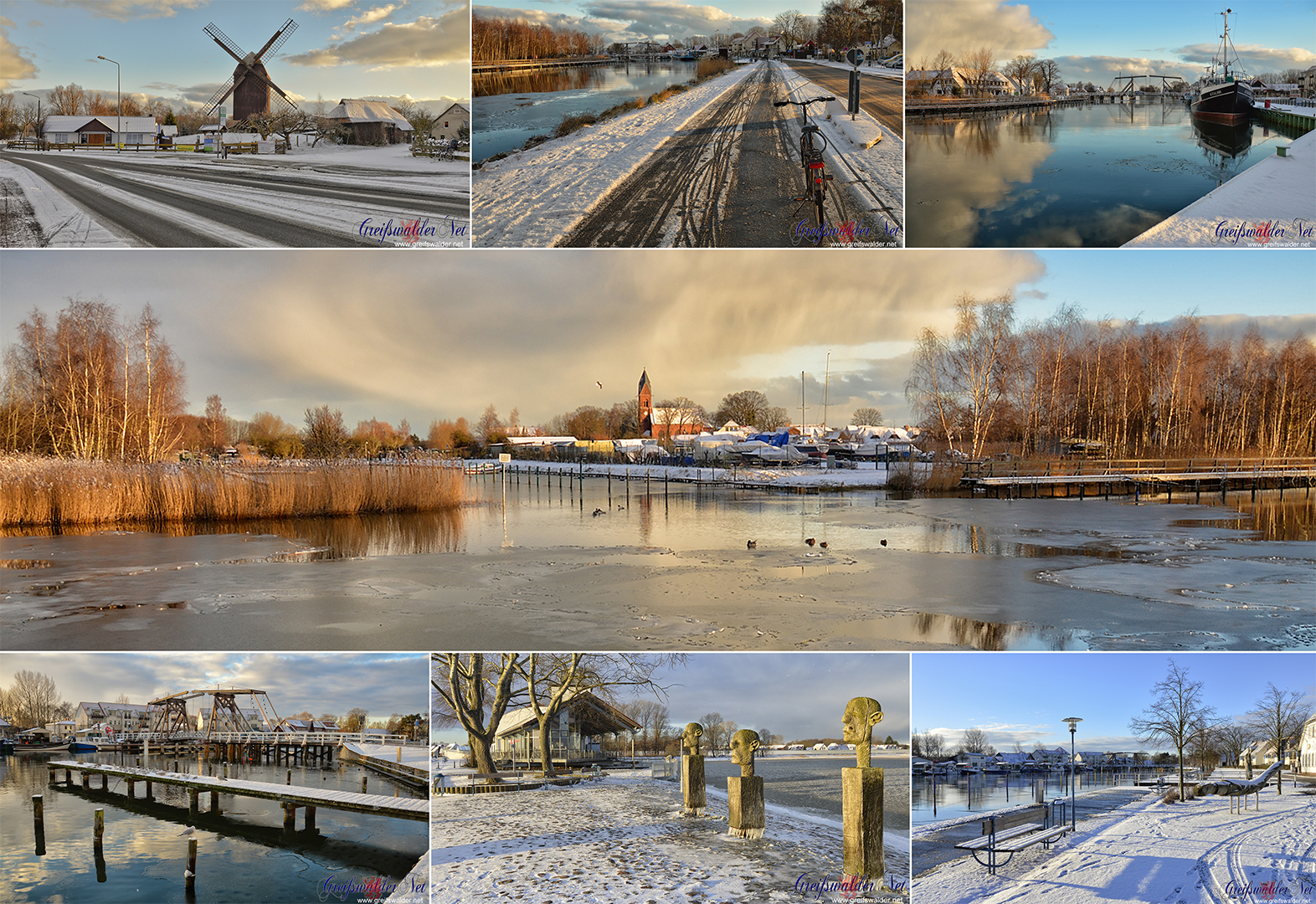 Winter in Greifswald