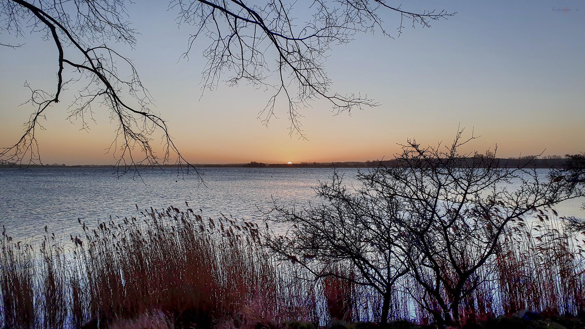 Sonnenaufgang an der Dänischen Wiek