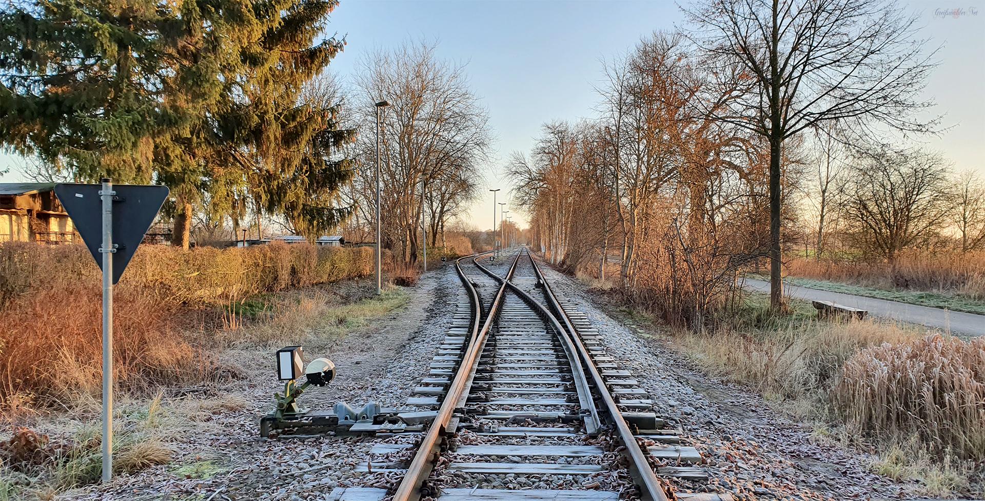 Altes Bahngleis
