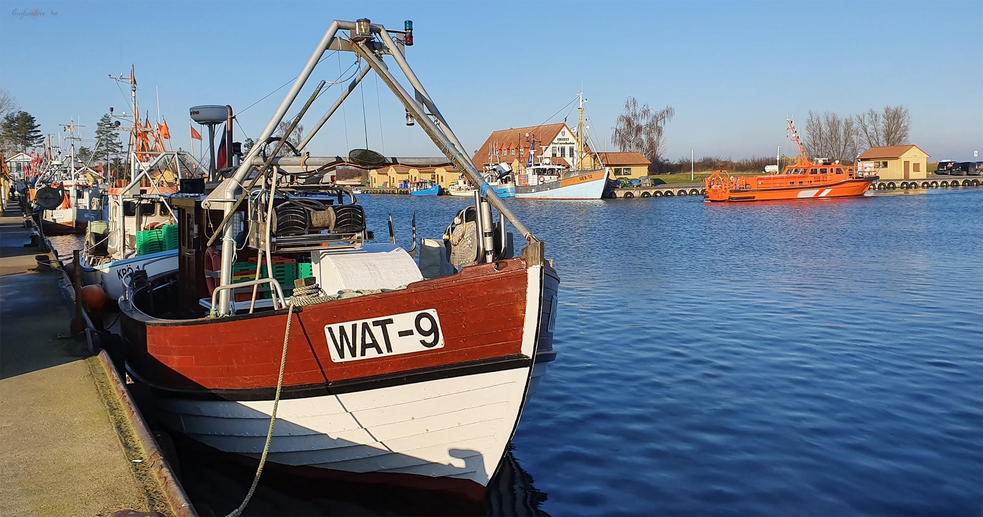 Fischereihafen Freest