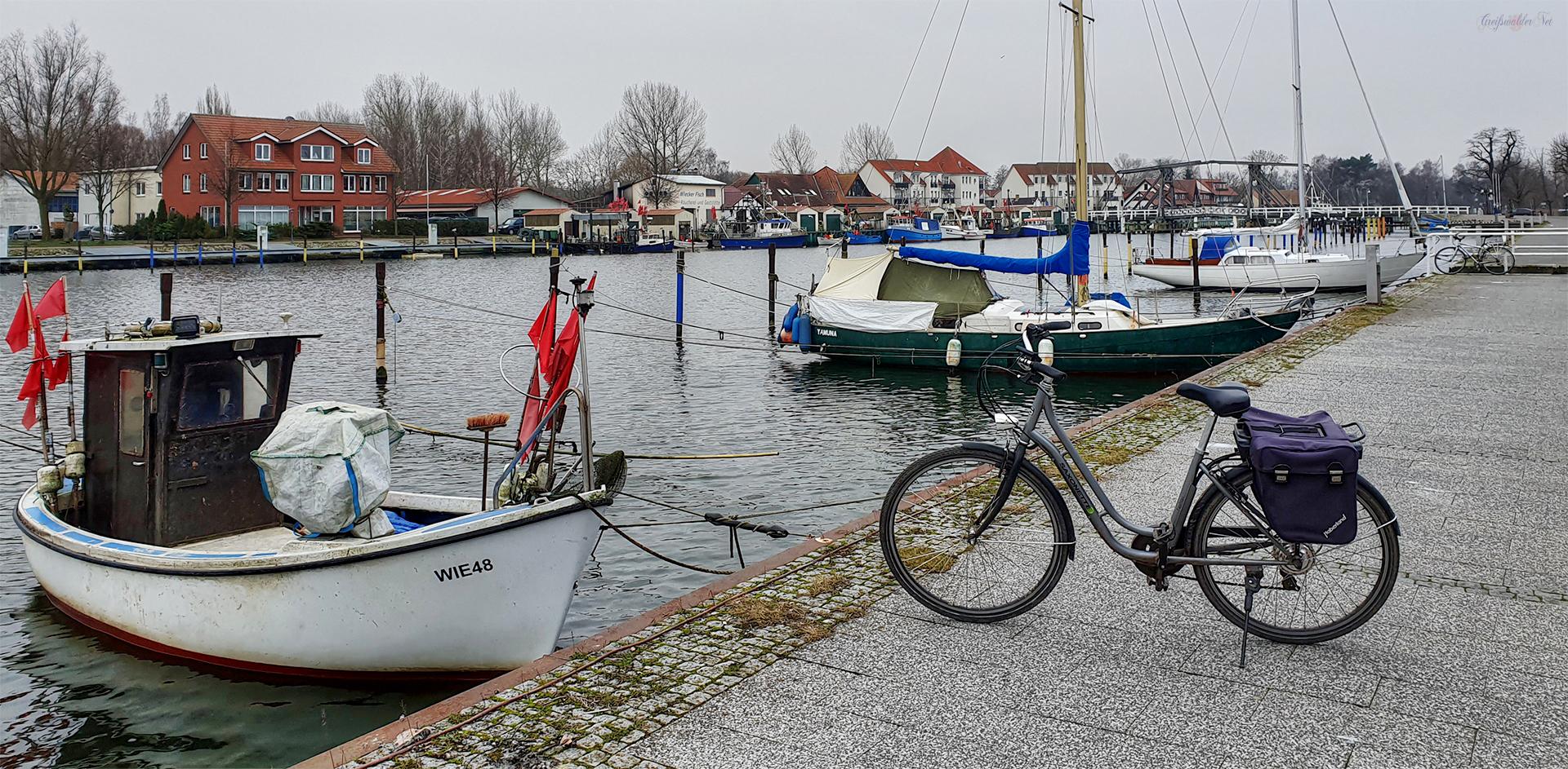 Freitagvormittag in Greifswald-Wieck