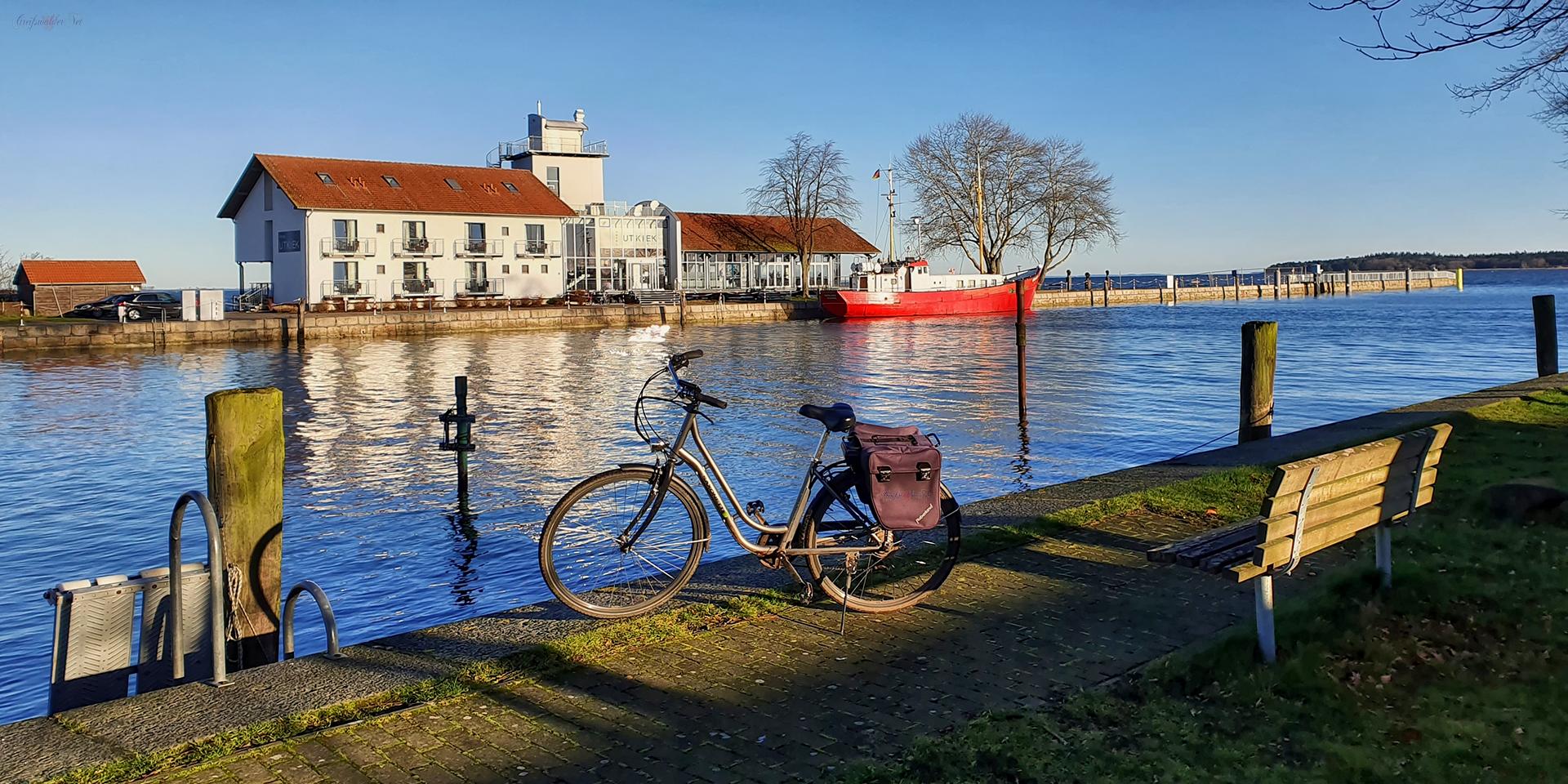 Herrliches Wetter in Greifswald-Wieck