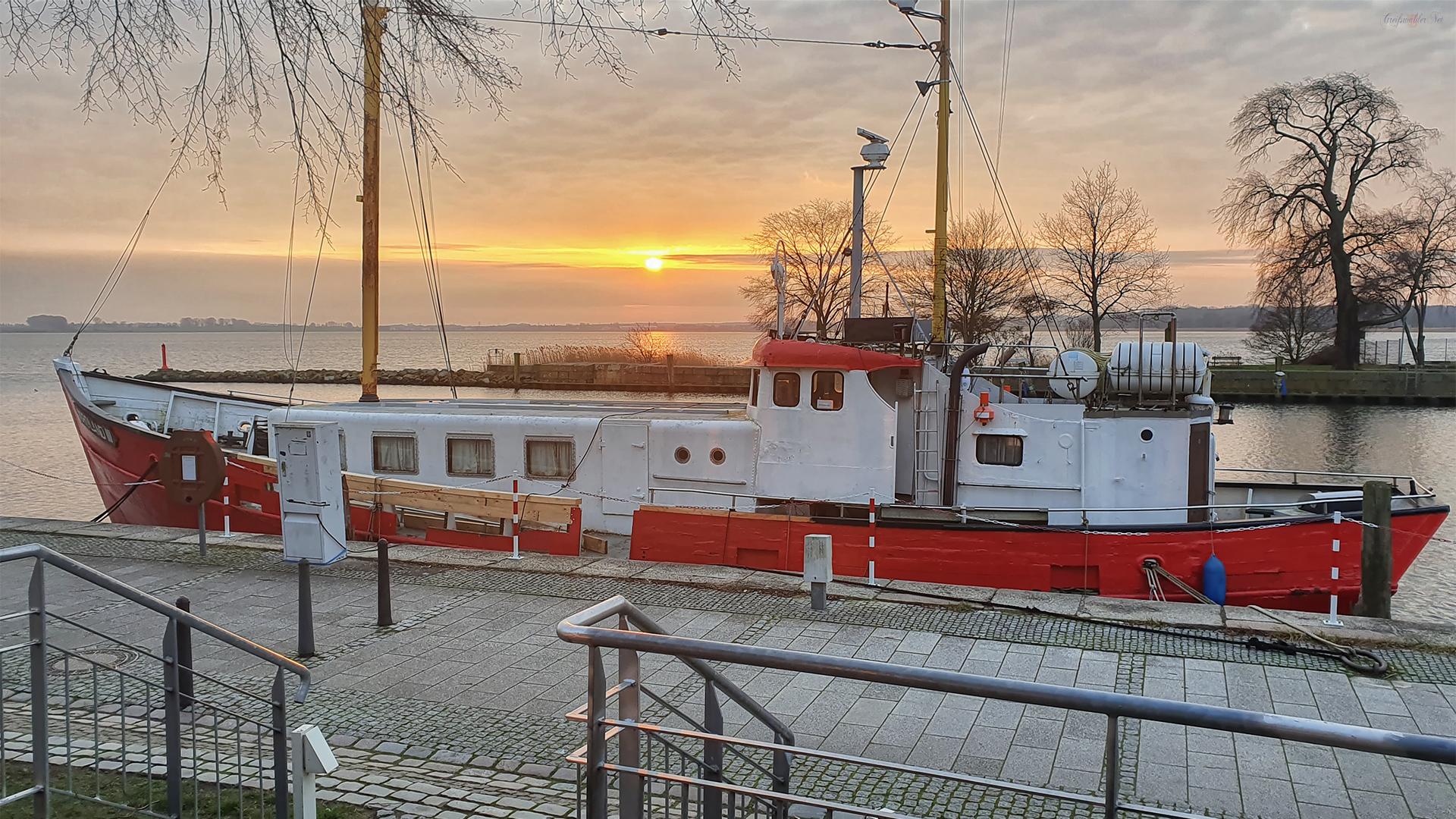 Lichtstimmung in Greifswald-Wieck