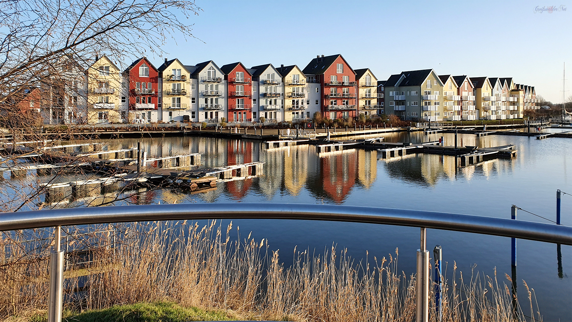 Marina am Holzteich in Greifswald