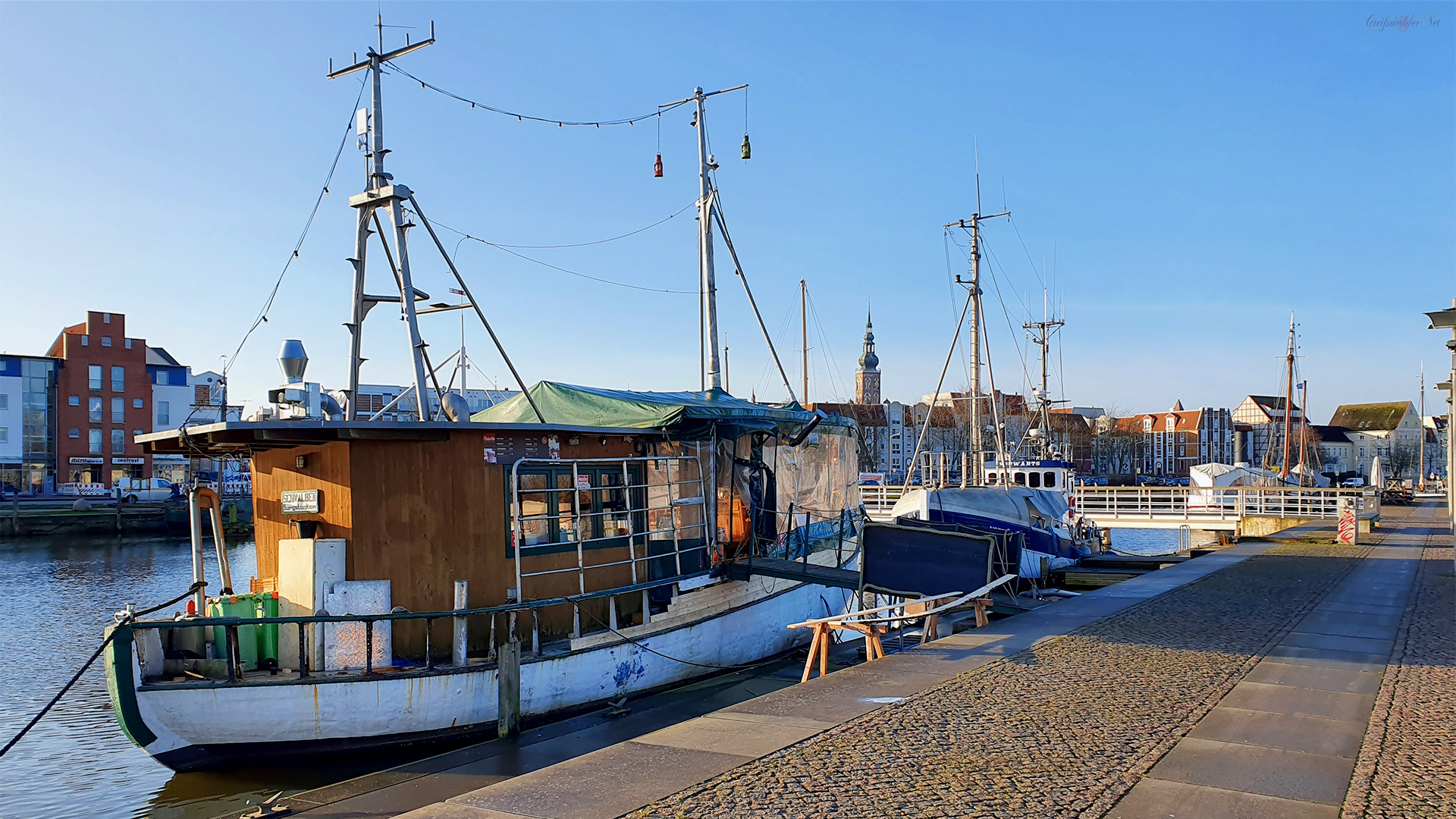 Museumshafen in Greifswald