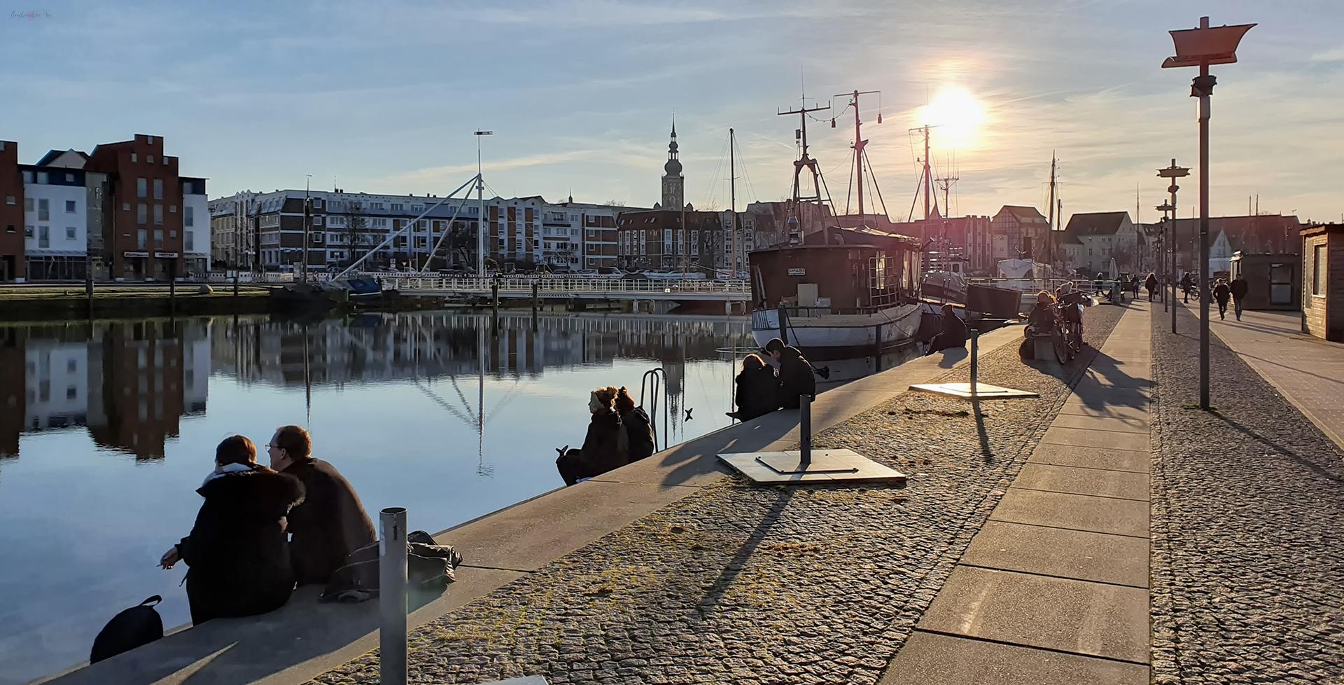 Nachmittag am Museumshafen Greifswald