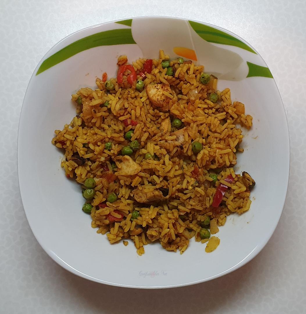 Mittagessen: Paella