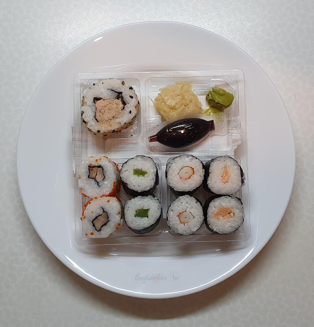 Lecker essen - Sushi Box