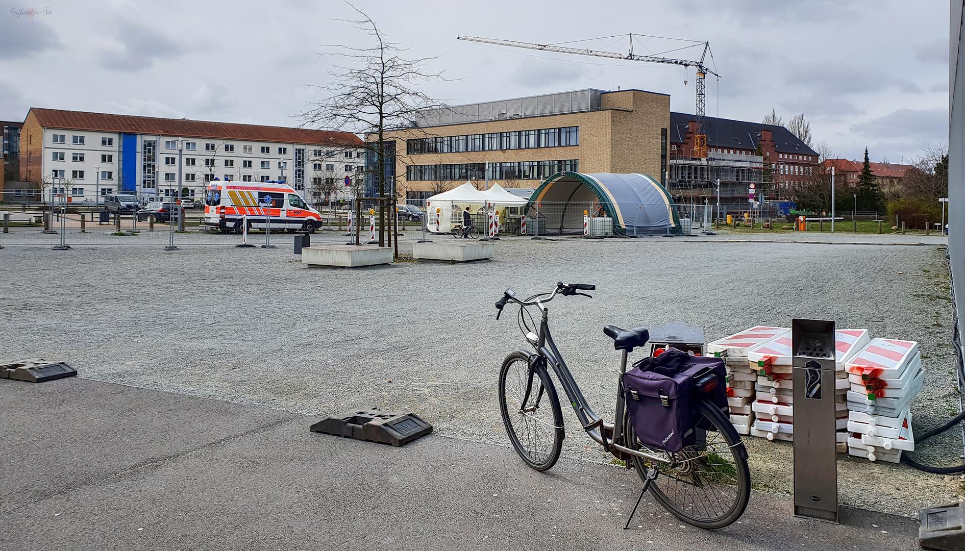 Ruhe am Universitätsklinikum Greifswald