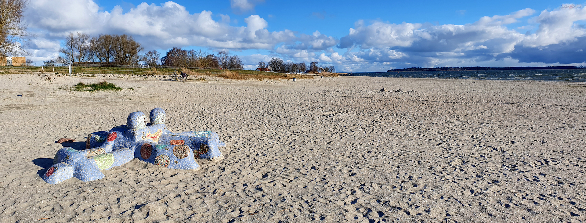Sonntag am Strand in Greifswald-Eldena