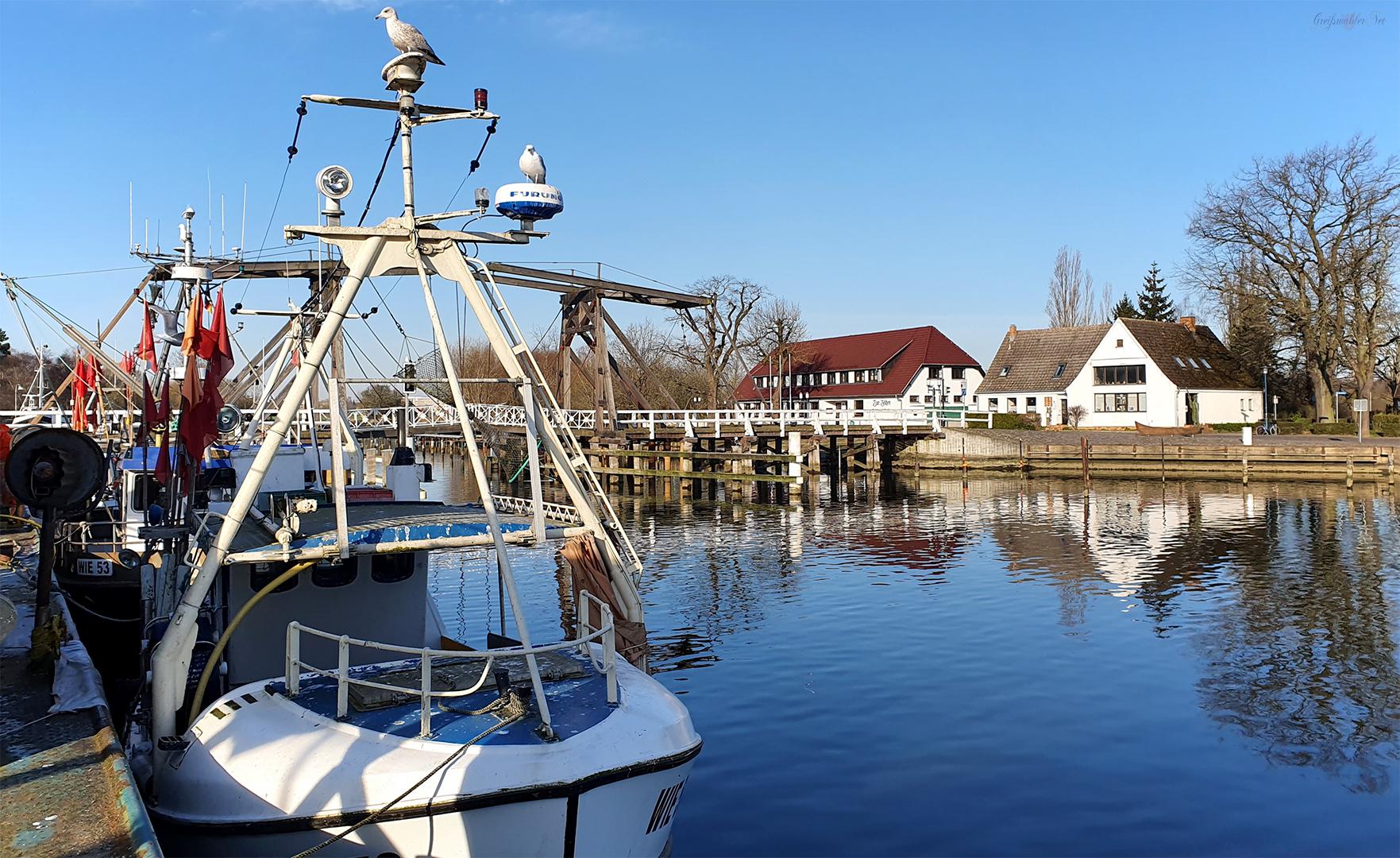 Sonniger Tag in Greifswald-Wieck