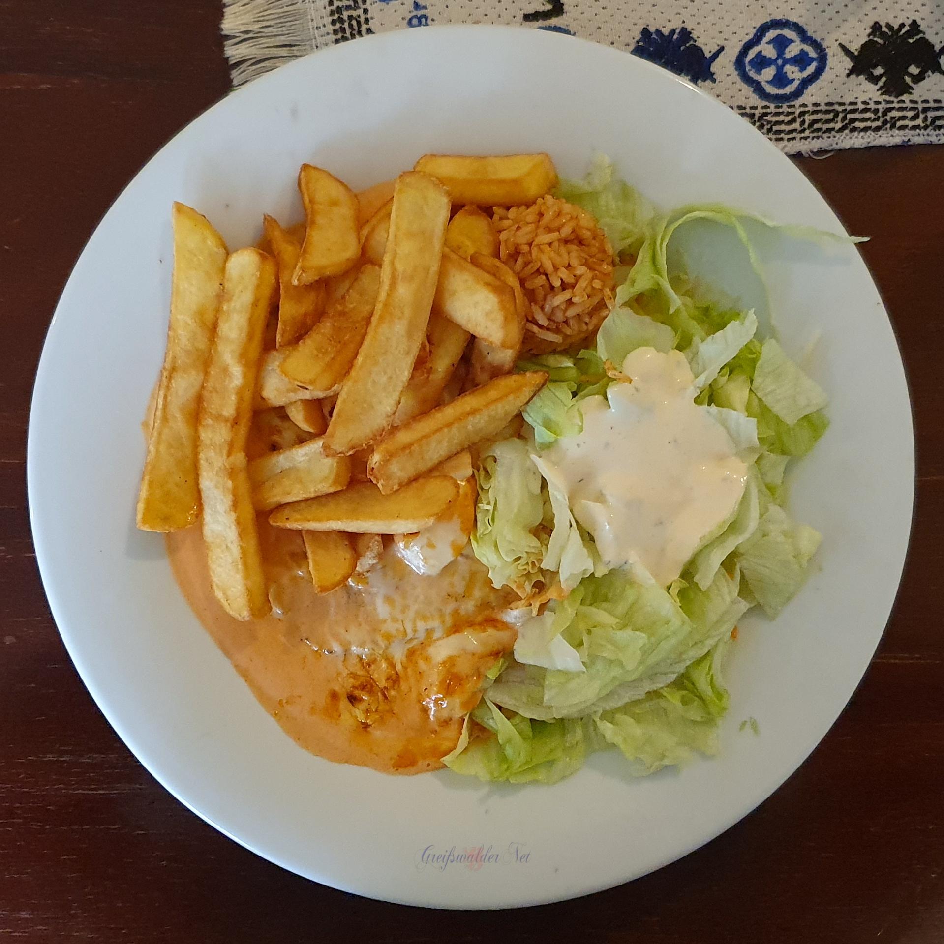 Mittagessen griechisch