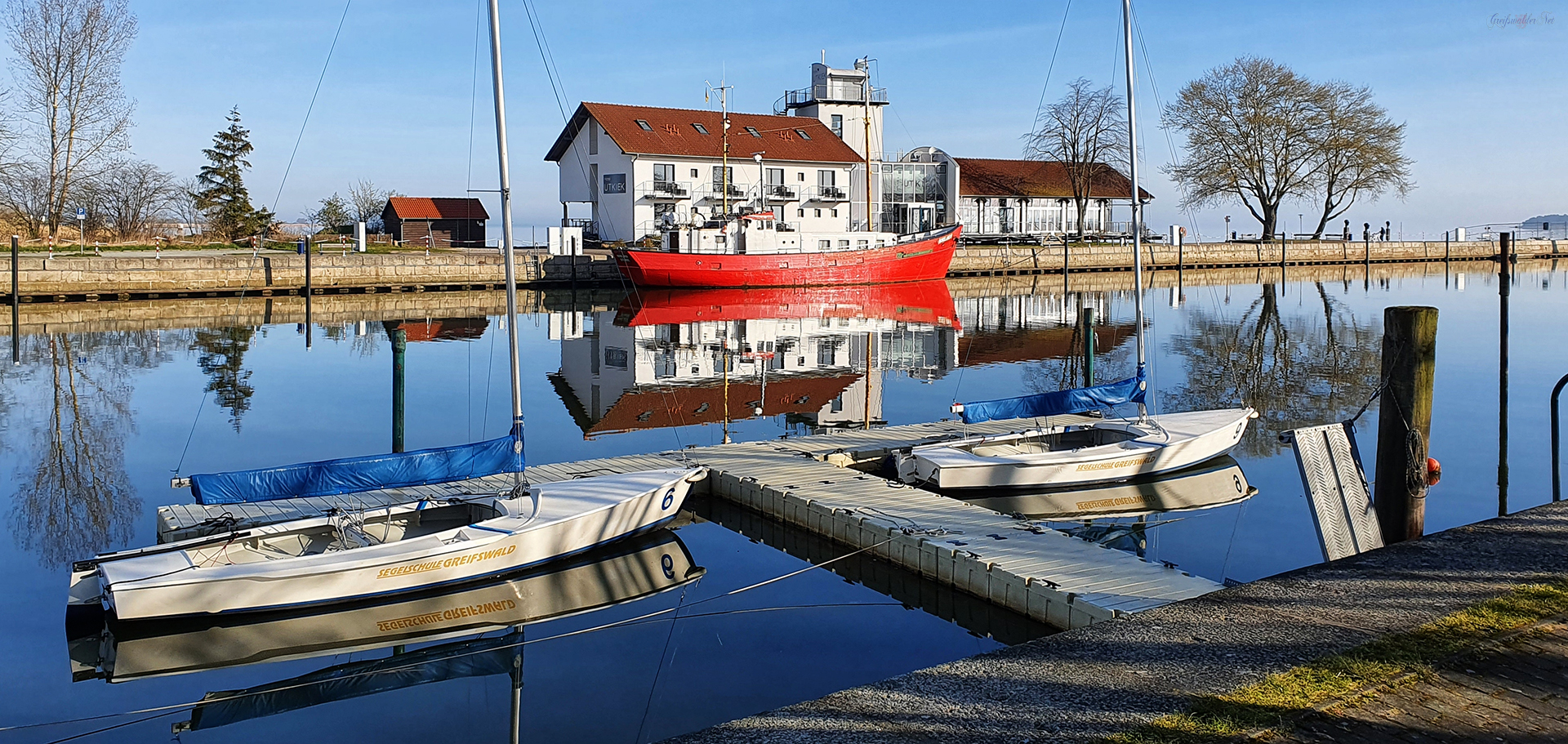 Karsamstag in Greifswald-Wieck