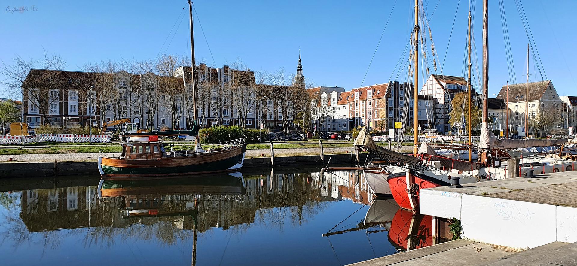 Greifswald am Museumshafen