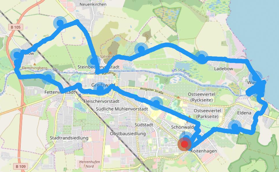 Frühsport - Fahrradtour am Sonntagmorgen