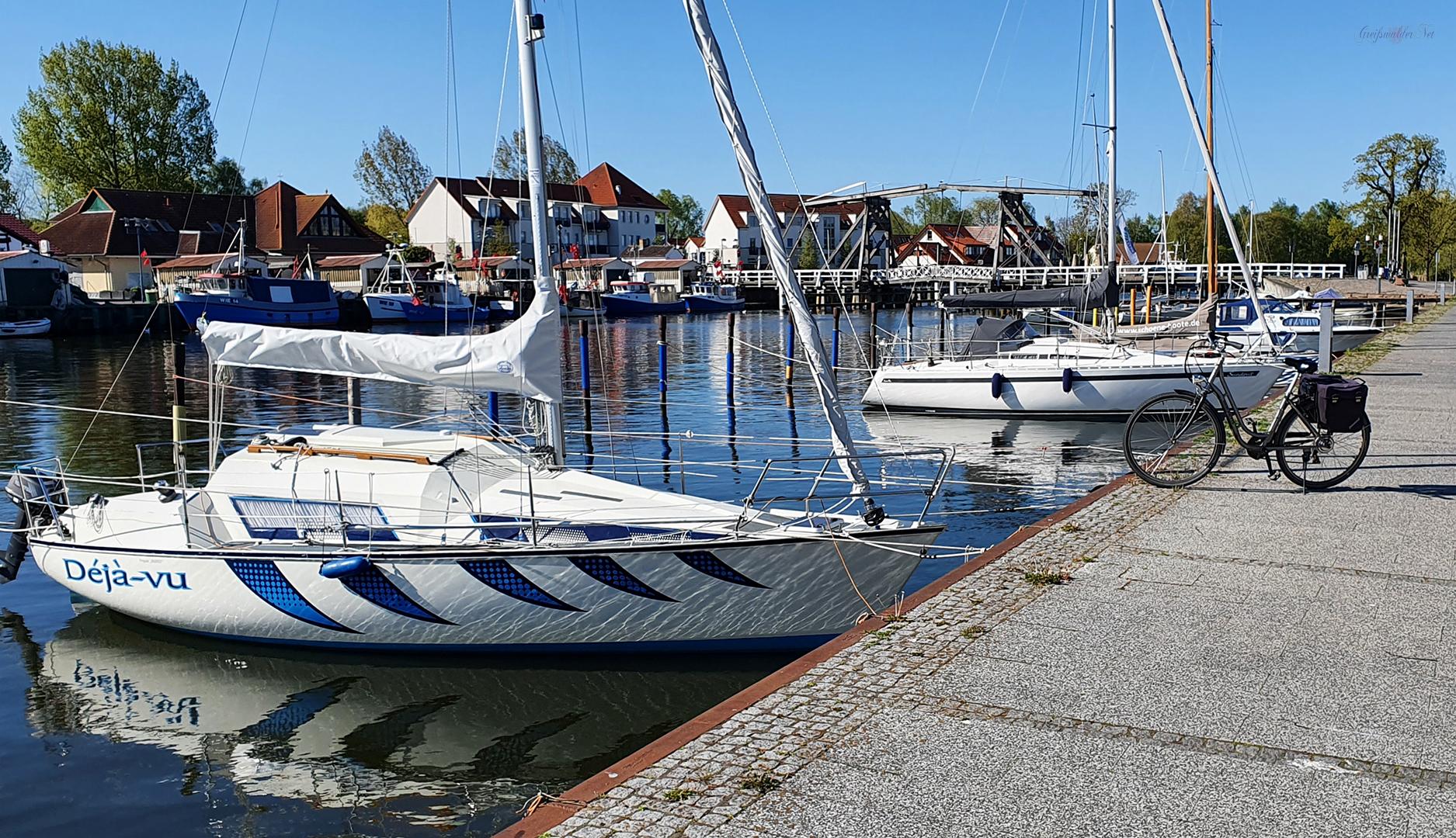 Déjà-vu - Frühling in Greifswald-Wieck