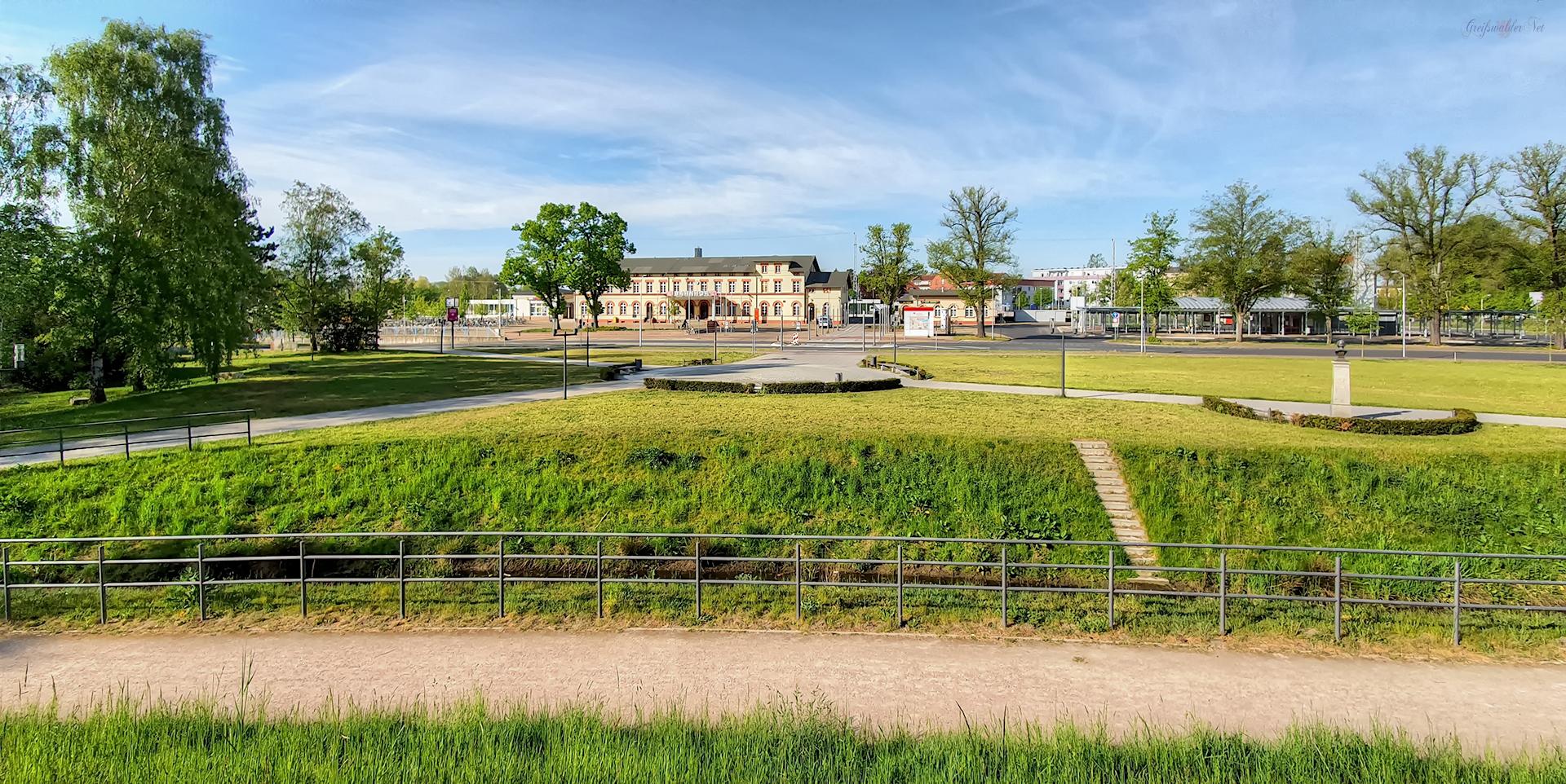 Carl-Paepke-Platz in Greifswald