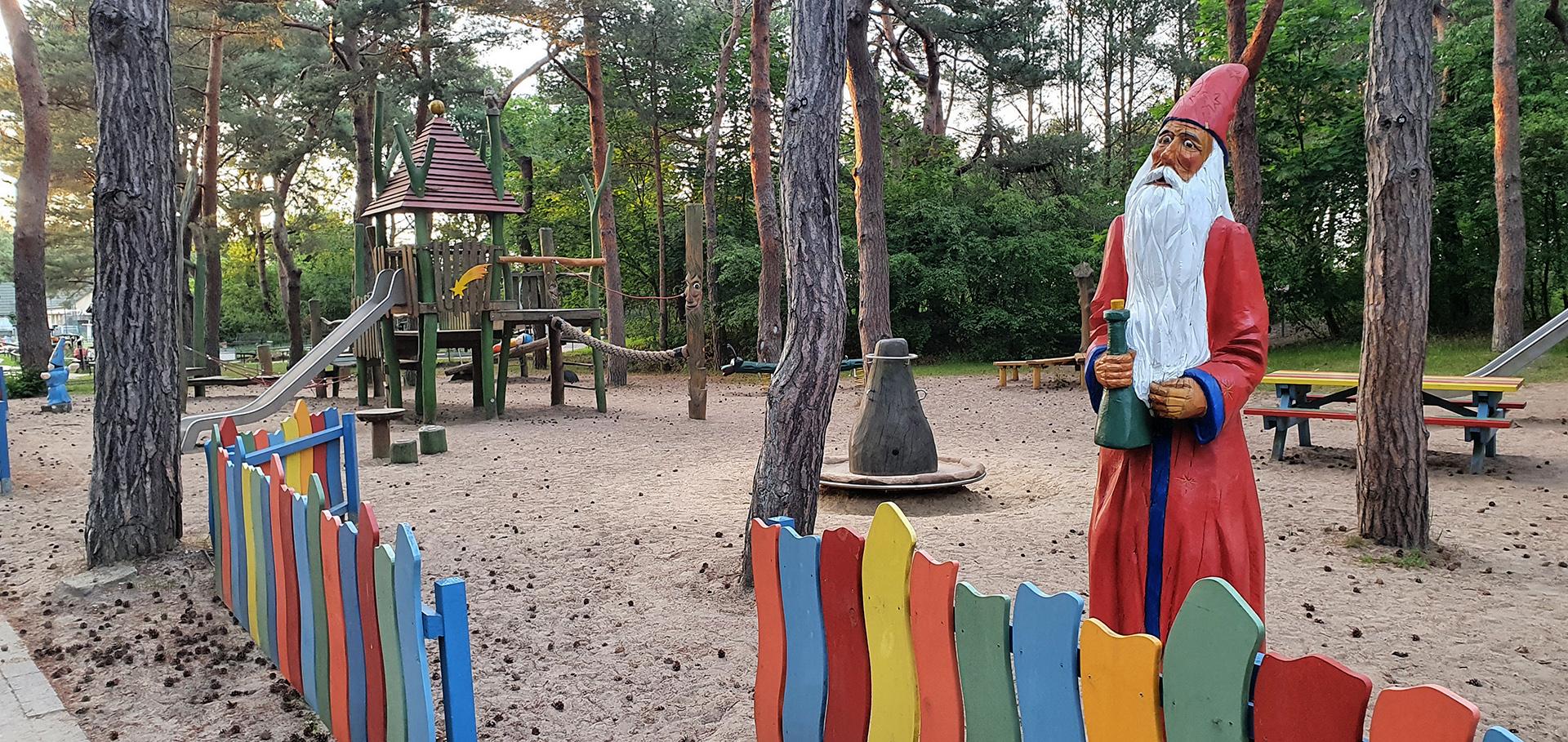 Karlchens Zauberwald an der Strandpromenade in Karlshagen