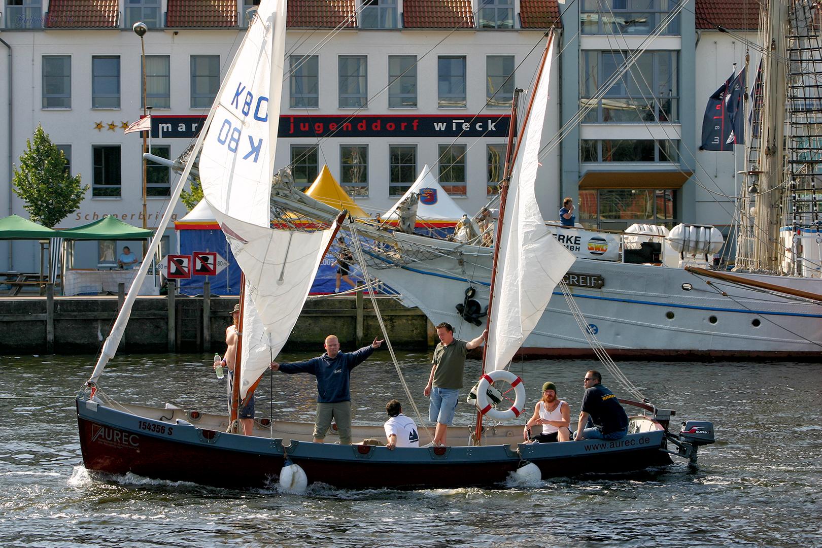 Fischerfest Gaffelrigg in Greifswald-Wieck