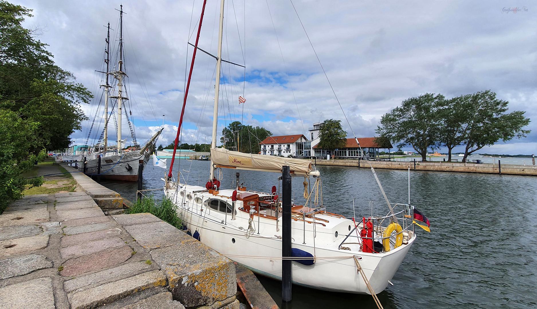 Sommertag in Greifswald-Wieck