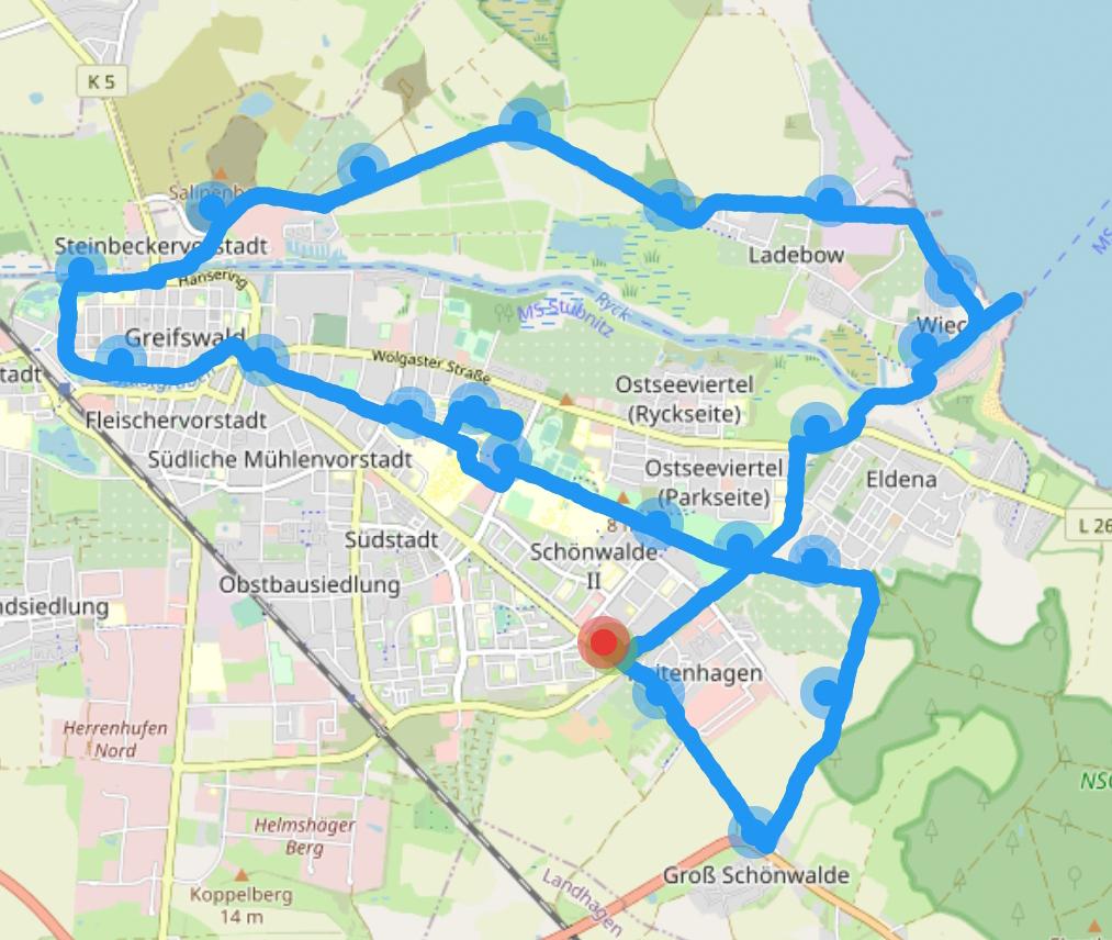 Fahrradtour am Sonntagvormittag