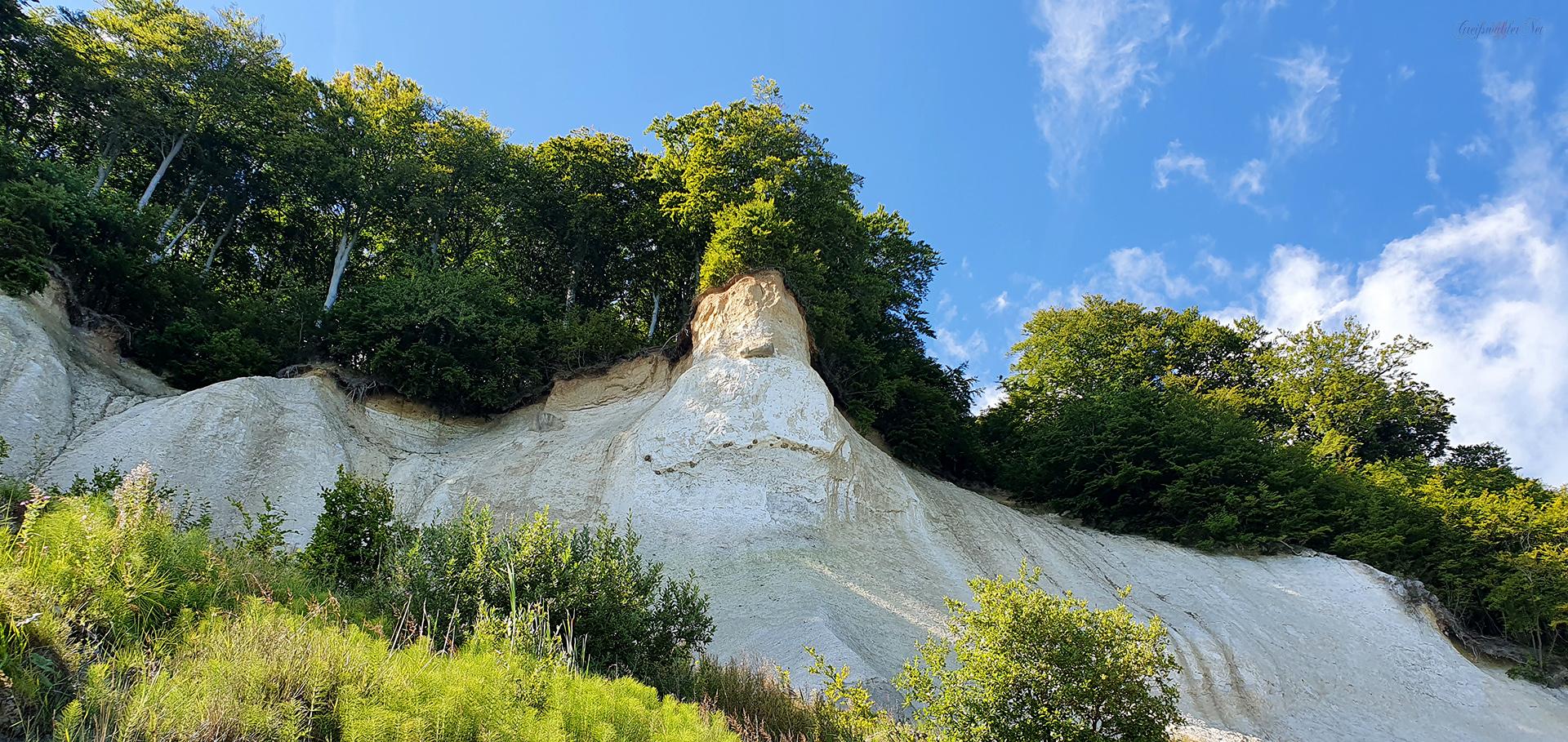 Herr der Berge - Kreidefelsen auf der Insel Rügen