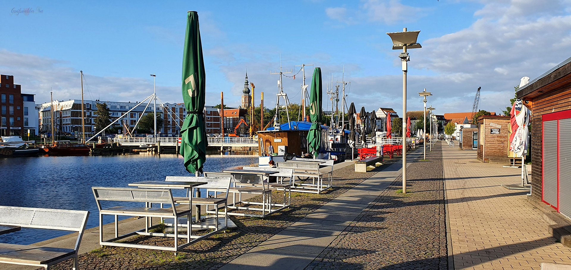 Spätsommer am Museumshafen Greifswald