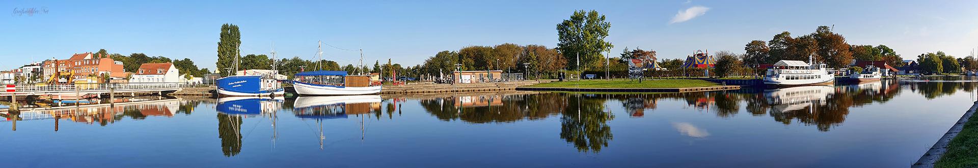 Panorama Museumshafen Greifswald
