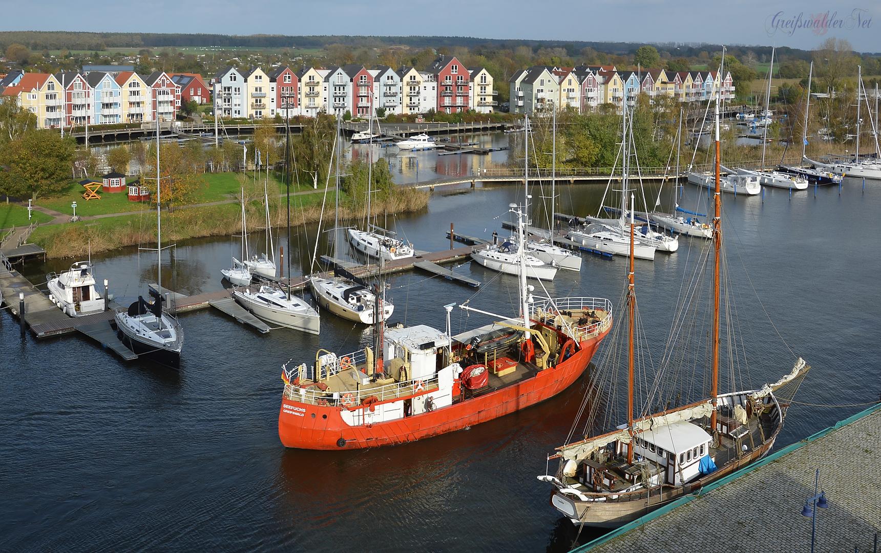 Marina Yachtzentrum Greifswald