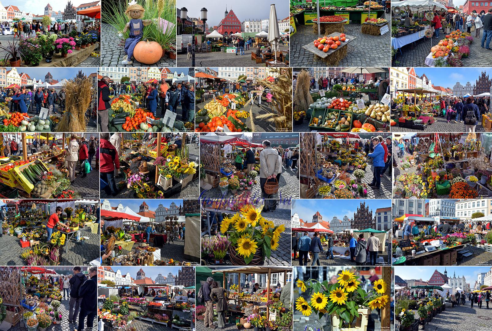 Erntedankmarkt 2015 in Greifswald