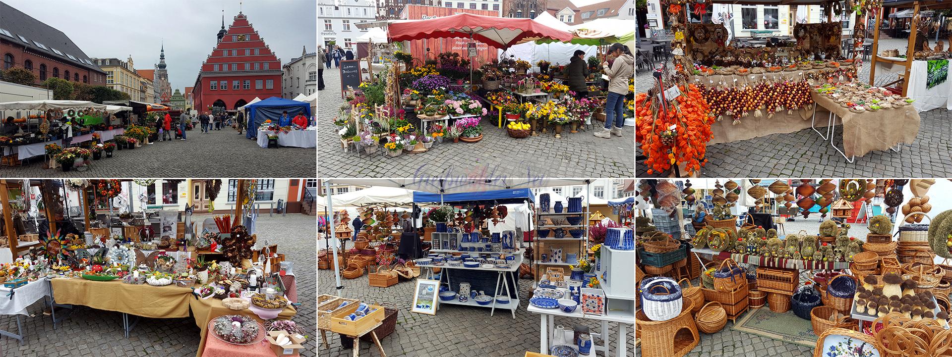 Erntedankmarkt 2017 in Greifswald