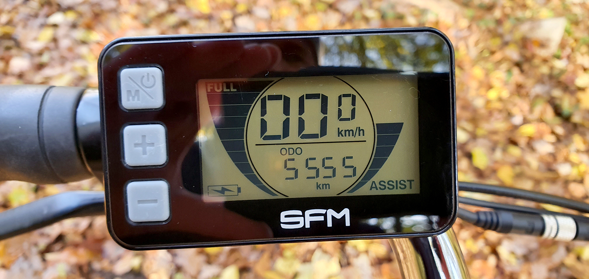 5.555 km insgesamt mit dem Pedelec gefahren