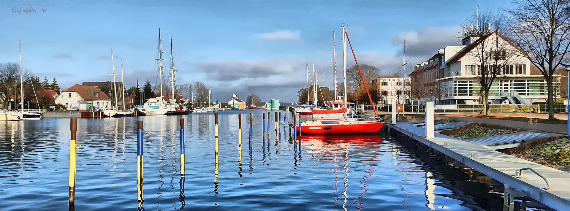Hafen Greifswald-Wieck