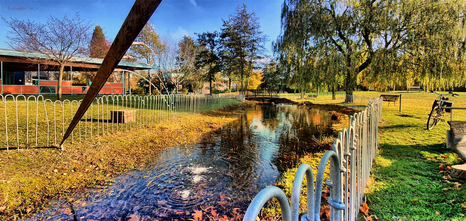 Ort zum Verweilen - Herbststimmung in Greifswald