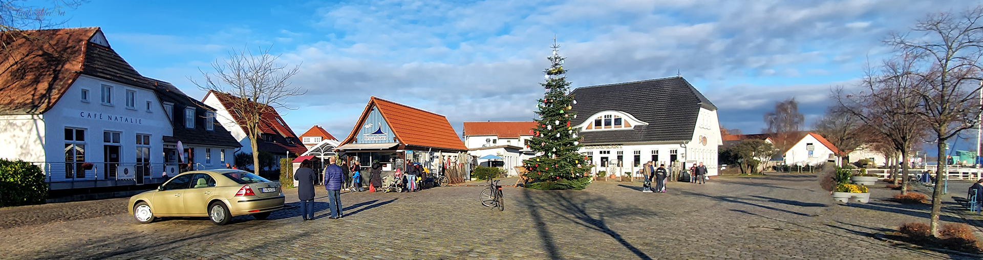 Adventsstimmung in Greifswald-Wieck