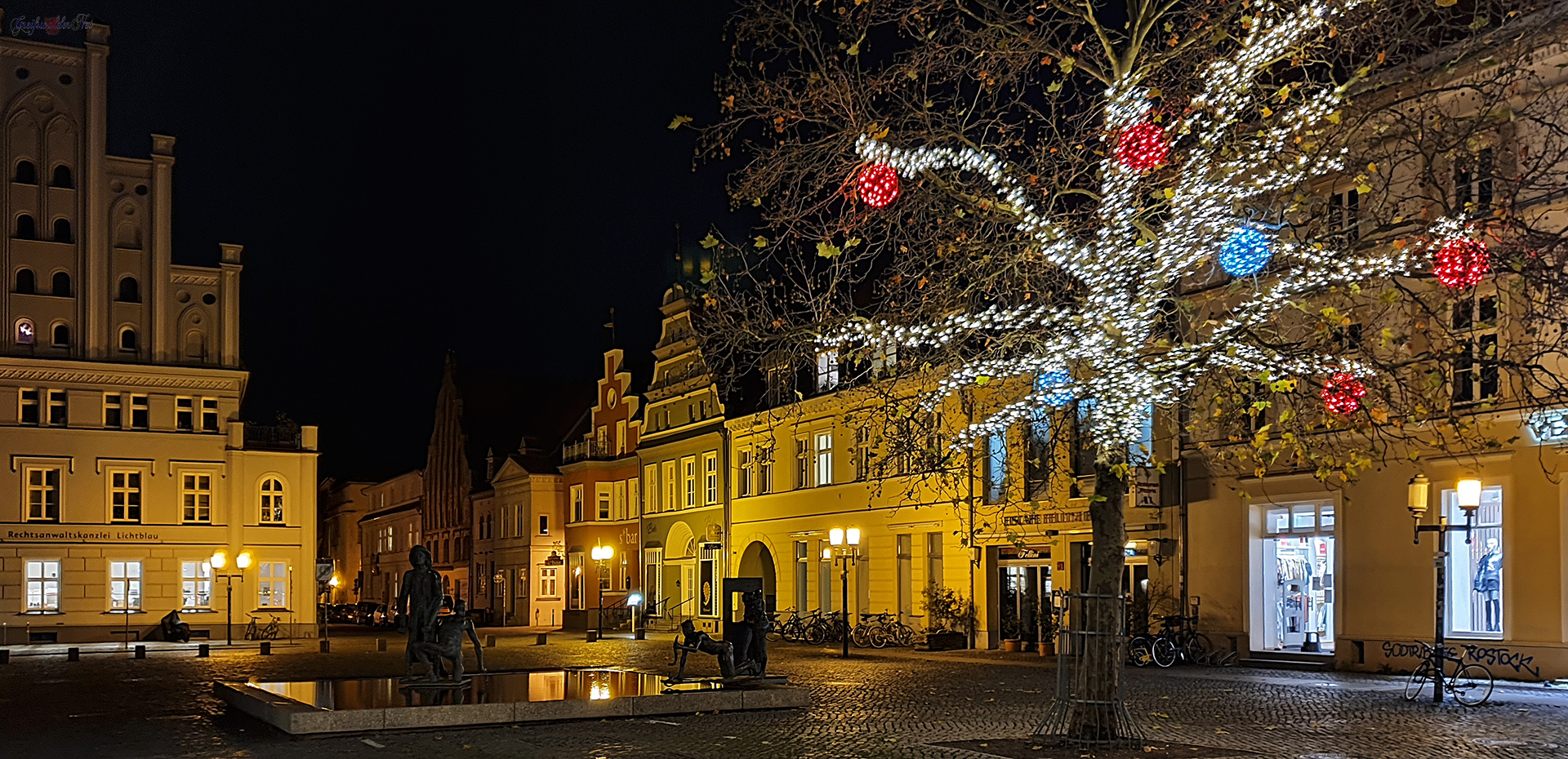 Adventssonntag-Abend in Greifswald