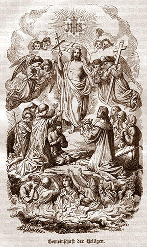 Gemeinschaft der Heiligen mit dem Auferstandenen