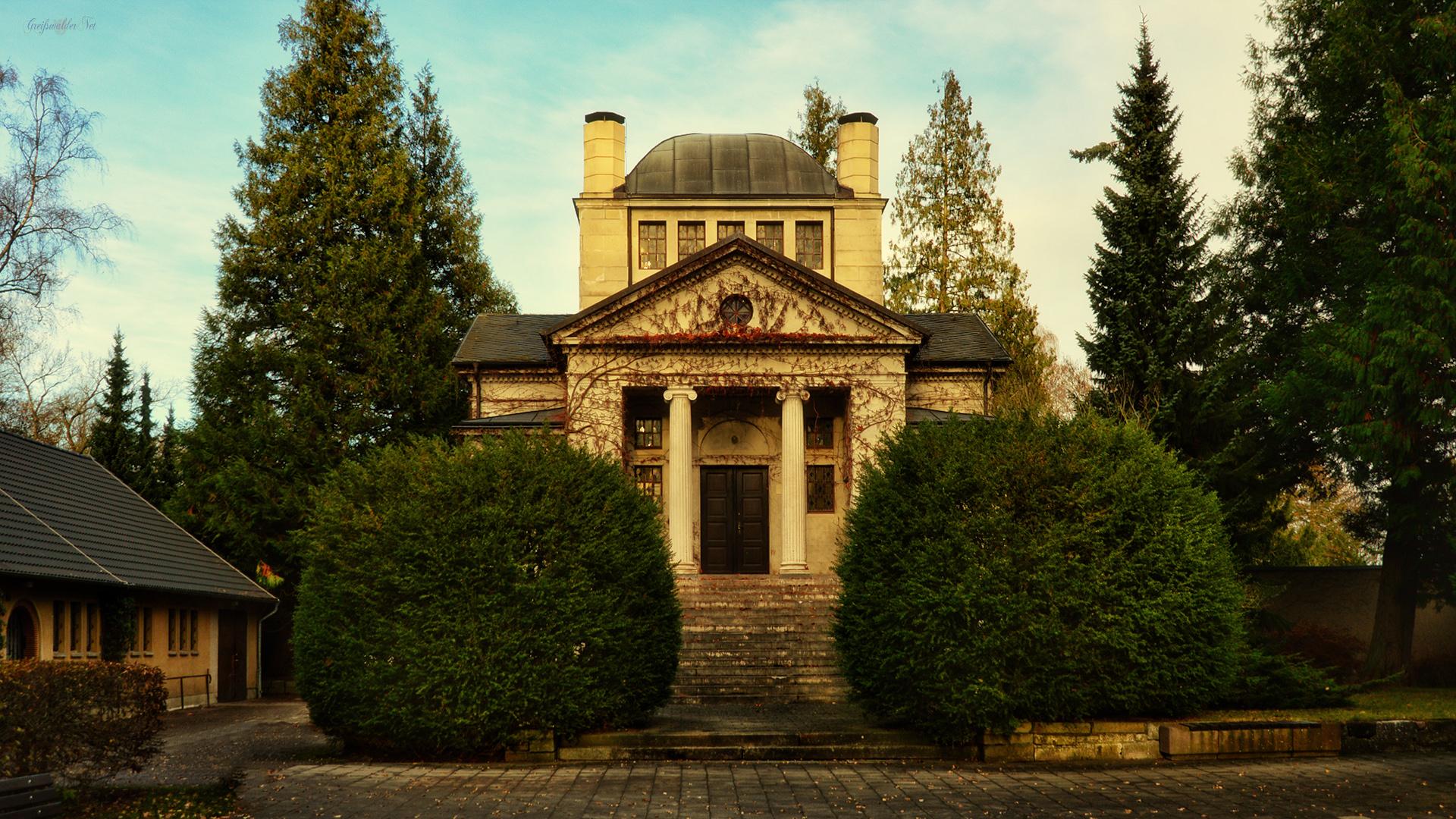 Kapelle - Neuer Friedhof in Greifswald