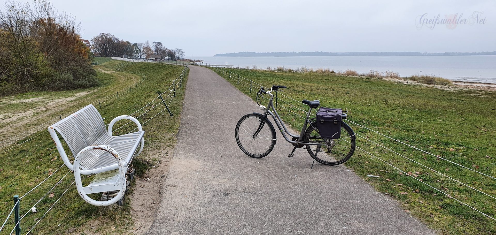Pause - Strand in Greifswald-Eldena