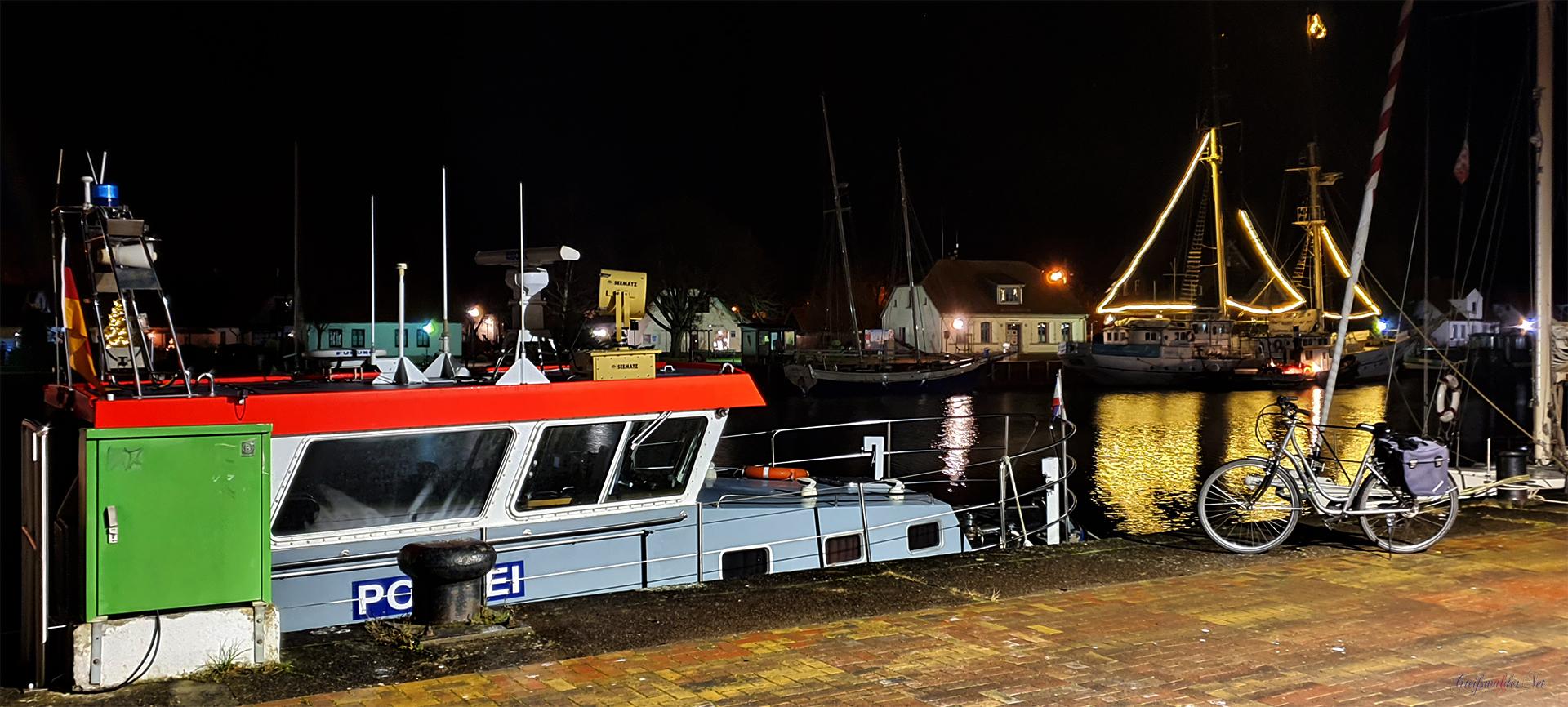 Freitagabend in Greifswald-Wieck